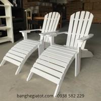 3 mẫu ghế tắm nắng gỗ bể bơi