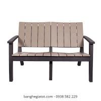 ghế gỗ dài sân vườn
