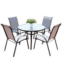Bộ bàn nhôm đúc  4 ghế