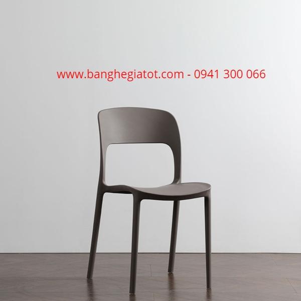 Ghế nhựa có lưng tựa giá