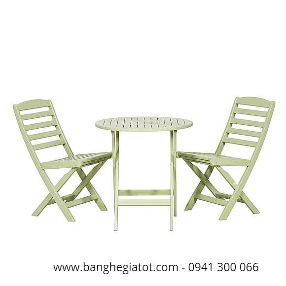 Mẫu bàn ghế ngoài trời đẹp giá tốt