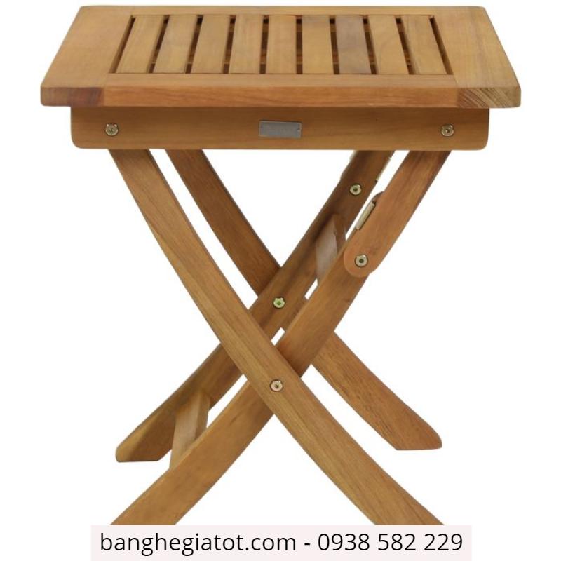 bàn gỗ ăn xếp gọn