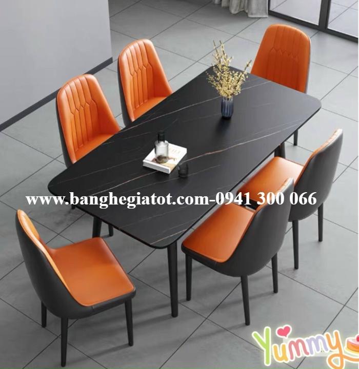 Bộ bàn ăn cao cấp sang trọng