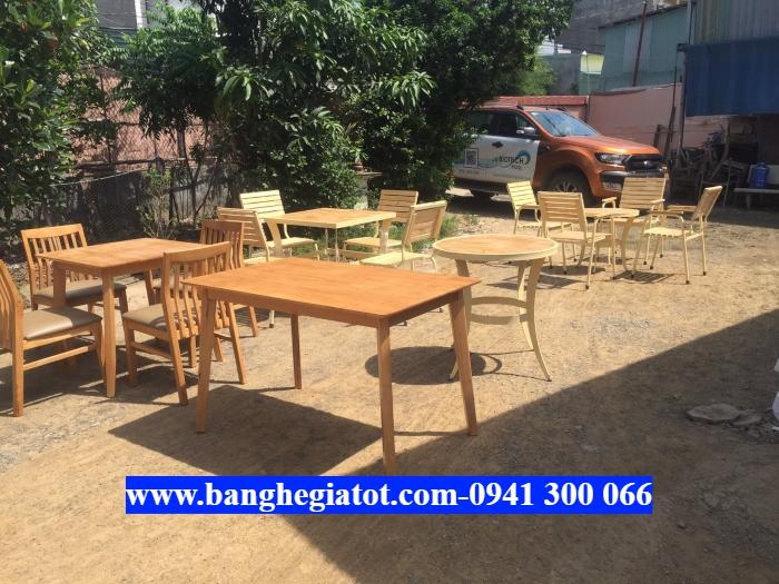 Bộ bàn ghế gỗ giá rẻ