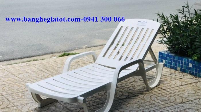 ghế tắm nắng nhựa ABS
