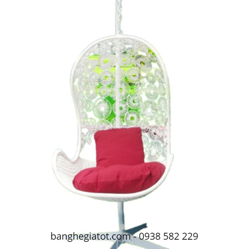 ghế xích đu hình giọt nước