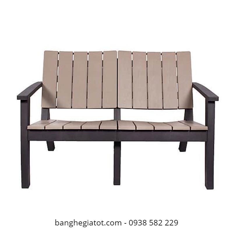 mẫu bàn ghế gỗ sân vườn