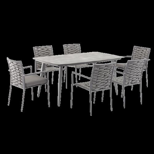 Bộ  bàn ghế nhựa mây 03